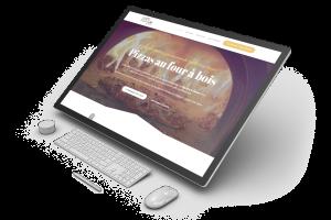 Site internet de Pizza Box Le Camion réalisé par Charlie Laubin et l'agence Calaweb